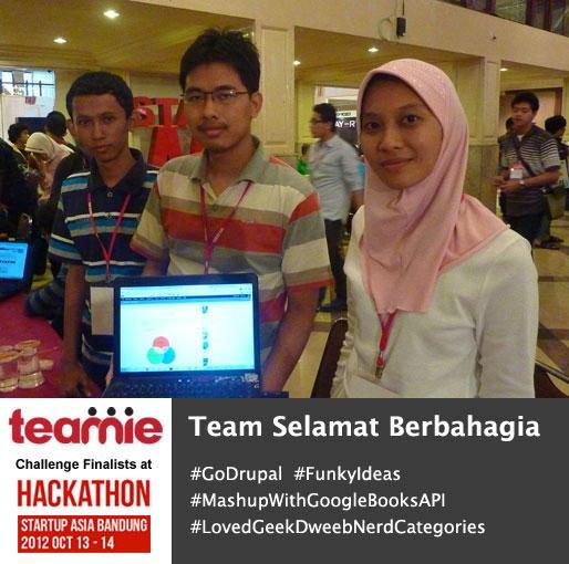 teamie finalis hackathon stis team