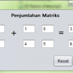 Membuat Program Penjumlahan Matriks Java Netbeans GUI