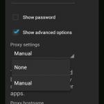 Cara Setting Proxy di Android Xperia U Sony