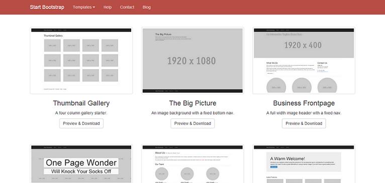 trik cepat membuat desain website menggunakan bootstrap