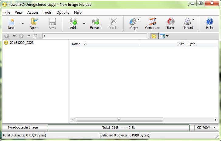 cara mengcopy file iso ke cd menggunakan power iso