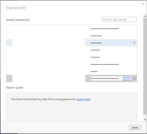 cara melihat password yang tersimpan pada browser opera