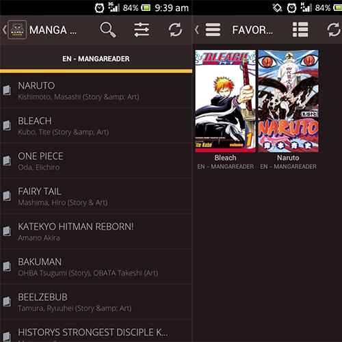 aplikasi untuk membaca manga di android