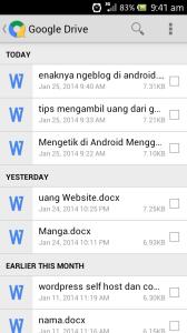 enaknya ngeblog di android dengan quick office