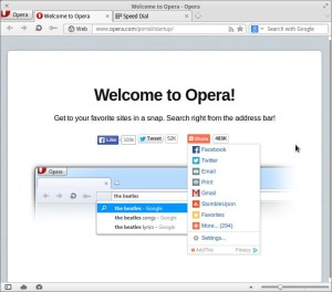 install opera browser di elementary os
