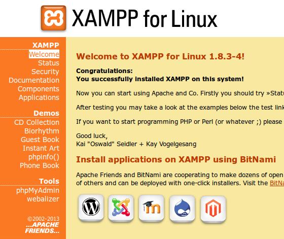 xampp for linux