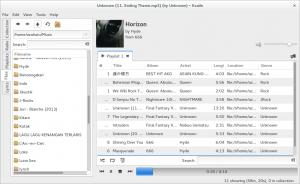 Exaile Audio Player