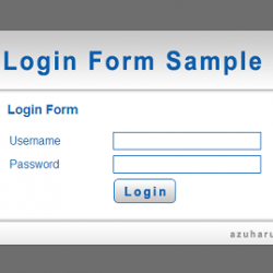 tutorial membuat login form dengan menggunakan html dan css