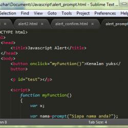 macam macam cara membuat javascript alert tutorial