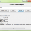 Lucene Search Engine XML Application