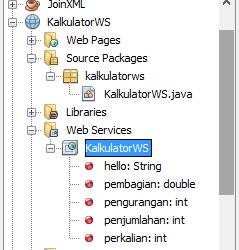 tutorial membuat web services dengan menggunakan netbeans