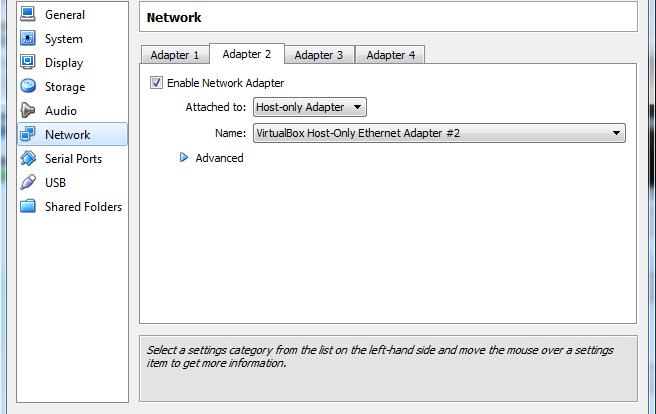 memberikan akses internet untuk host only network adapter virtualbox