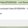 windows media player server execution failed