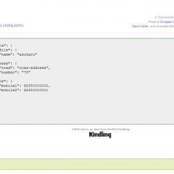 cara validasi json secara online