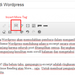 cara membuat read more di artikel wordpress
