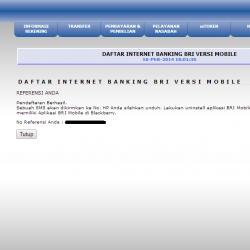 internet banking bri untuk android