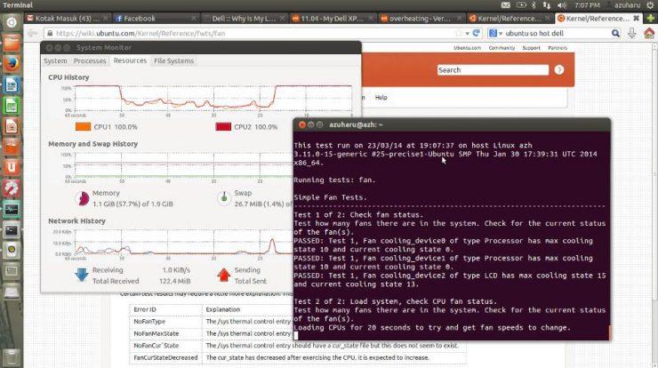 laptop cepat panas di ubuntu
