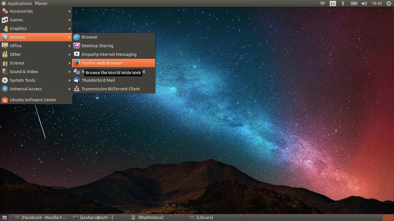 gnome classic ubuntu 14.04