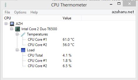 mengetahui suhu laptop dengan cpu termometer