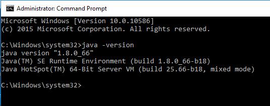 java command prompt