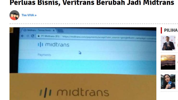 veritrans berubah menjadi midtrans