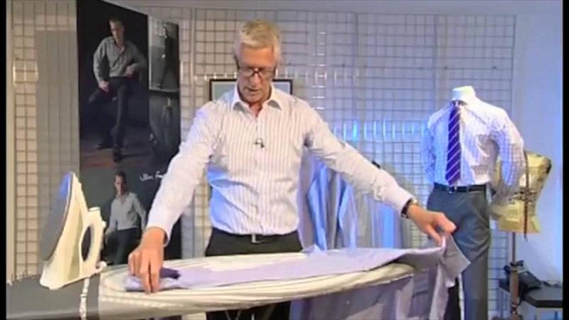 cara menyetrika pakaian